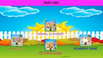 Learn Easy English With Smart School ABC For Children And Kids ,Boys And Girls
