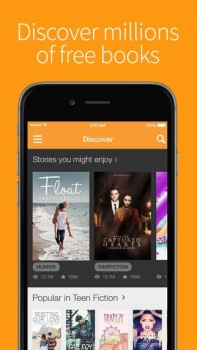 Wattpad - Free Books and eBook Reader - Read Fiction, Romance, Fanfiction stories