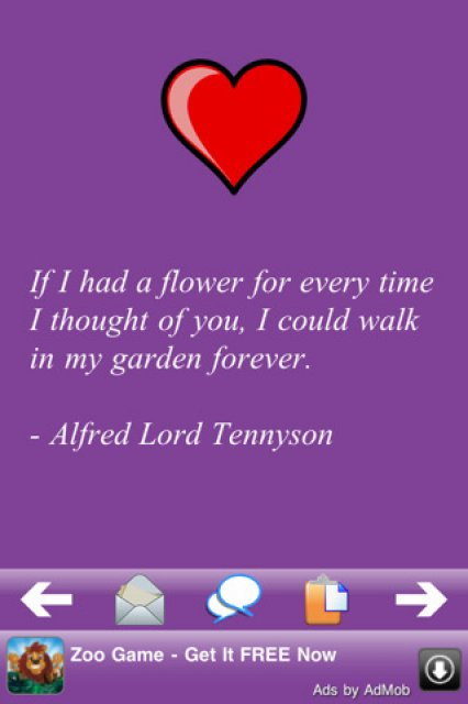 Love Quotes 500 - iPhone, iPad & iPod applications