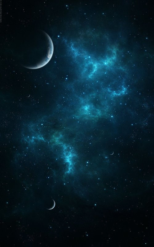 Amazing Abstract Space Wallpaper Iphone Ipad Ipod